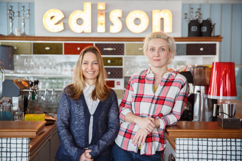 Organisatorin Alexandra Fiedler-Lehmann und Brand Advisor Iwona Laub
