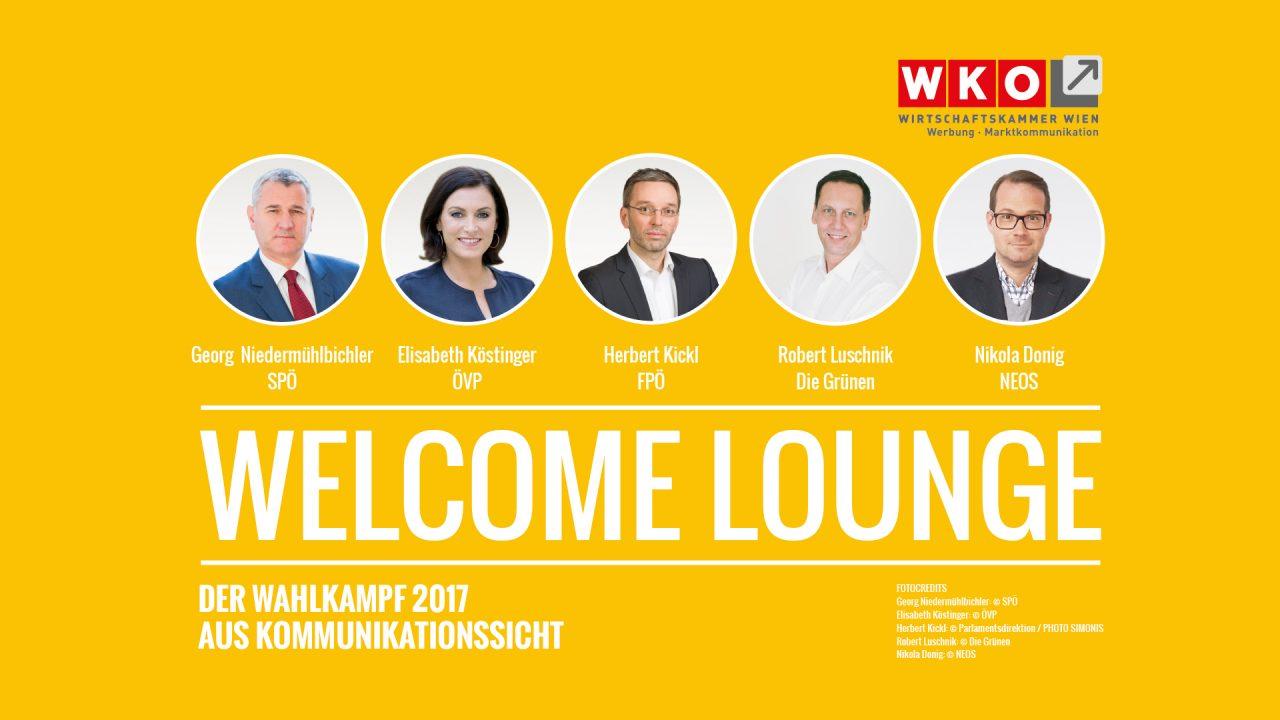 Einladung Welcome Lounge 28.9